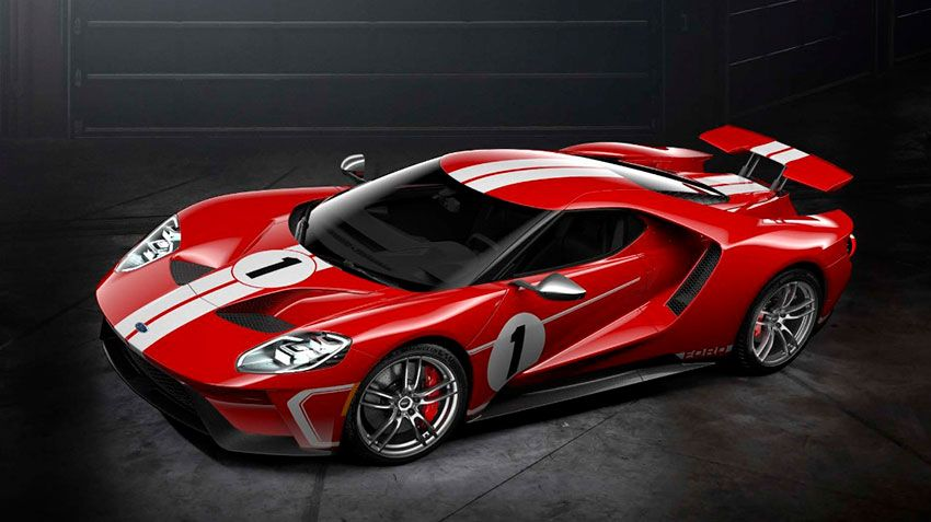 Ford GT 67 Heritage Edition – дань памяти