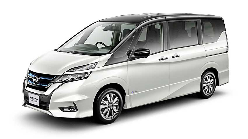Nissan Serena e-Power получит электромотор Nissan LEAF