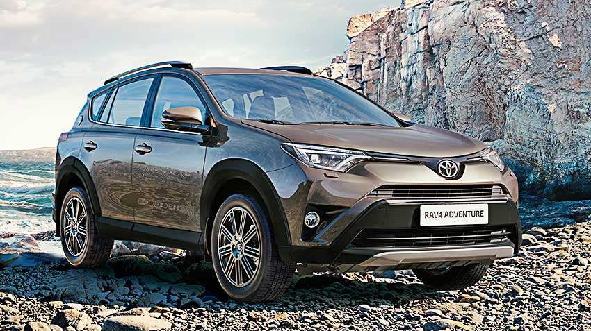 Toyota RAV4 Adventure – спецверсия для России