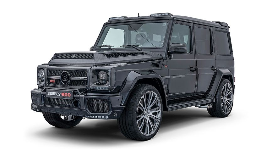 Brabus 900 One of ten – квадратный монстр