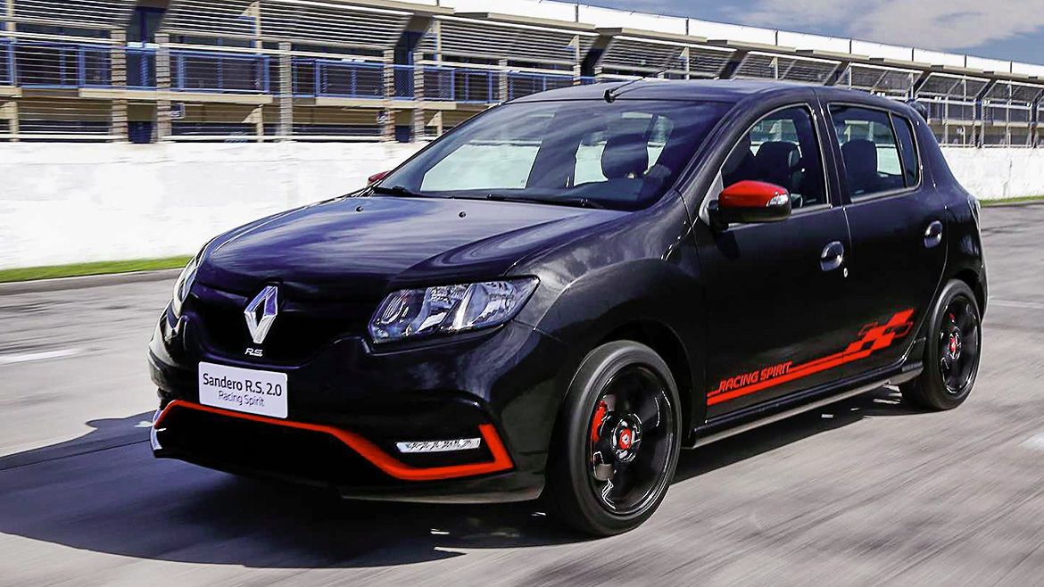 Представлен Renault Sandero RS «Racing Spirit»