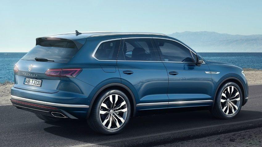Volkswagen Touareg наконец-то сменил поколение