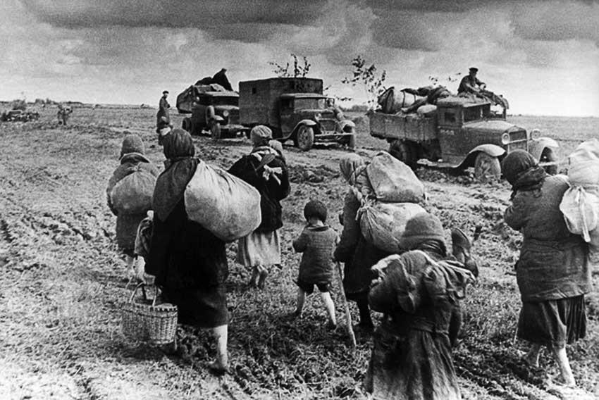 Автомобили в войну